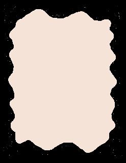 frame label doodle wavy hand drawn artwork printable clipart