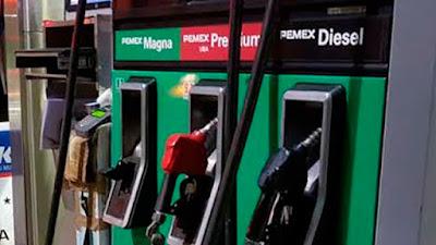 Gasolina Magna, Premium y Diesel