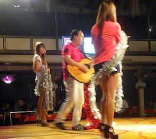Night club show at Powerlight Yangon