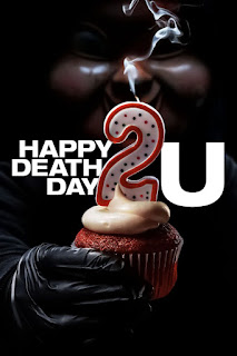 Happy Death Day 2U, English Movie Happy Death Day 2U, English Movie, English Movie 2019, Suspen, Thriller, Filem dan Drama Bulan Februari Hingga Mac 2018, Review By Miss Banu, Blog Miss Banu Story, Ulasan, My Opinion, Happy Death Day 2U Cast, Pelakon Filem Happy Death Day 2U, Jessica Rothe, Israel Broussard, Phi Vu, Suraj Sharma, Sarah Yarkin, Ruby Modine, Rachel Matthews, Poster Movie Happy Death Day 2U,
