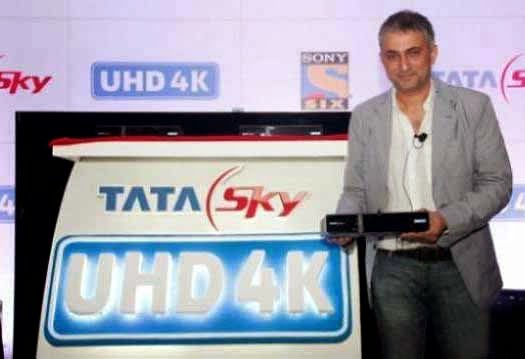 Tata Sky, 4K set top box, Tata Sky 4K set top box, 4K set top box of Tata Sky, Tata Sky UHD 4K