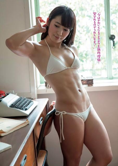 筋肉美少女 才木玲佳(れいたん)