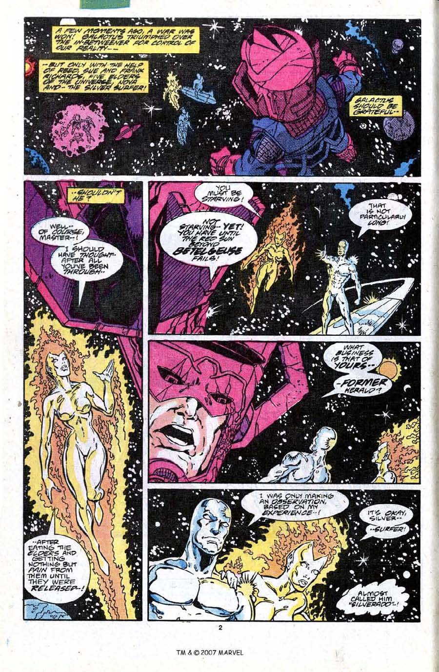 Read online Silver Surfer (1987) comic -  Issue #19 - 4