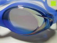Glas seitlich: »Barracuda« Schwimmbrille, 100% UV-Schutz + Antibeschlag. Starkes Silikonband + stabile Box. TOP-MARKEN-QUALITÄT! Große Farbauswahl.