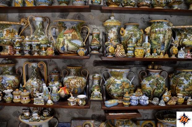 Castelli, ceramiche della ditta Fazzini Pina