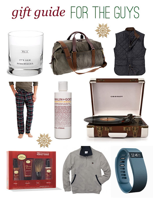 Christmas Gift Guide: For the Guys