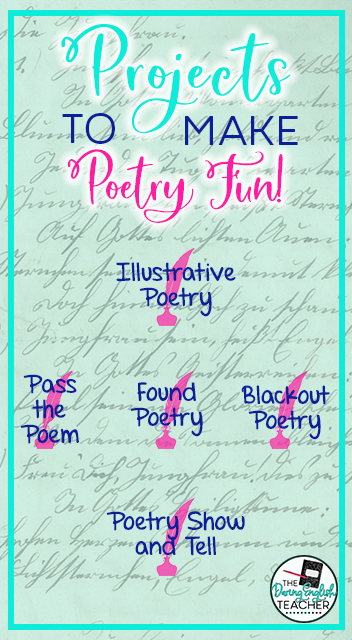 Projects to Make Poetry Fun
