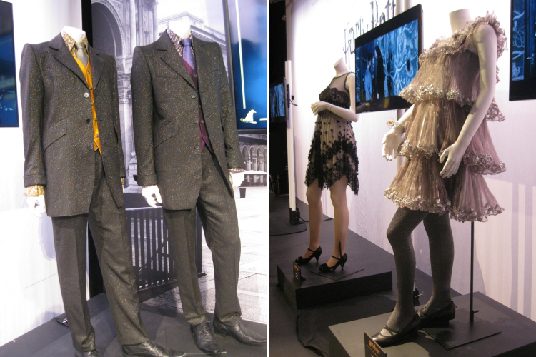 Harry Potter and the Half Blood Prince film costumes exhibition