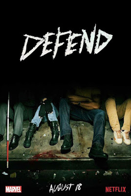 Marvel's The Defenders Television Series Teaser Poster