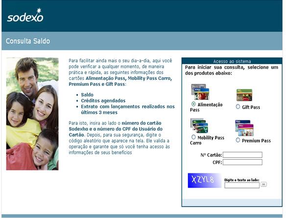 DISK SALDO SODEXO ALIMENTAÇÃO | www.saldocartao.sodexho.com.br