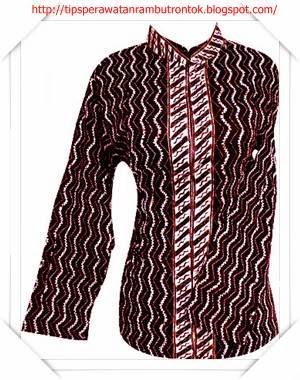 Update model baju batik motif geometris