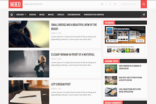 Meed Blogger Template