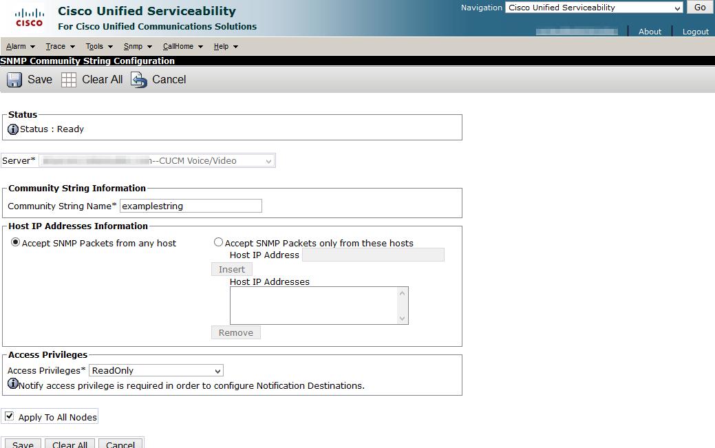 Jonathan Schulenberg: Configuring SNMP on Cisco Prime License