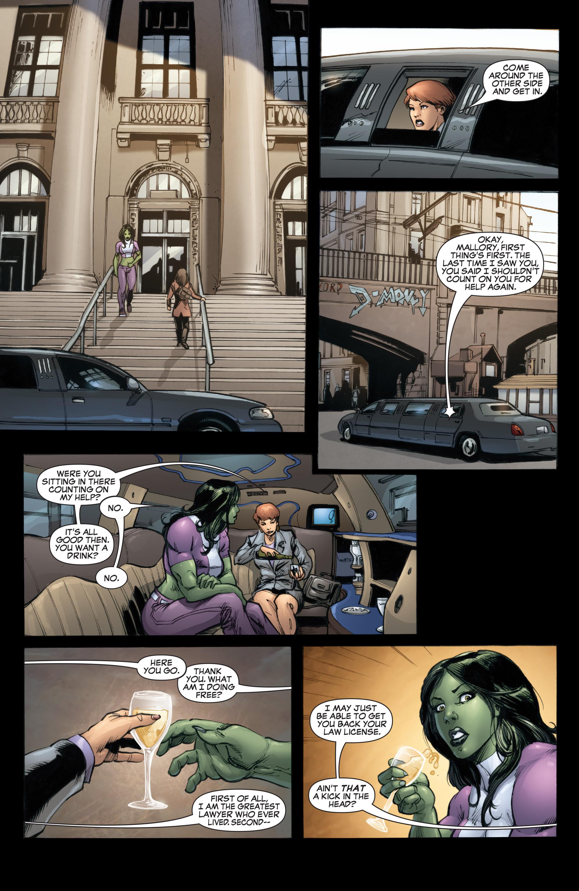 Read online She-Hulk (2005) comic -  Issue #37 - 12