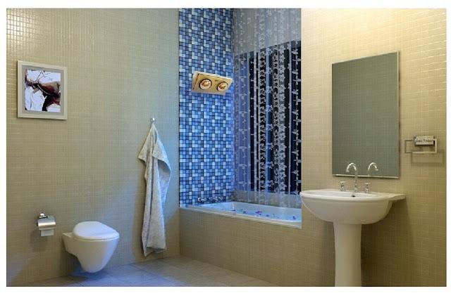 Đèn sưởi hồng ngoại - đèn sưởi lý tưởng dành cho nhà tắm