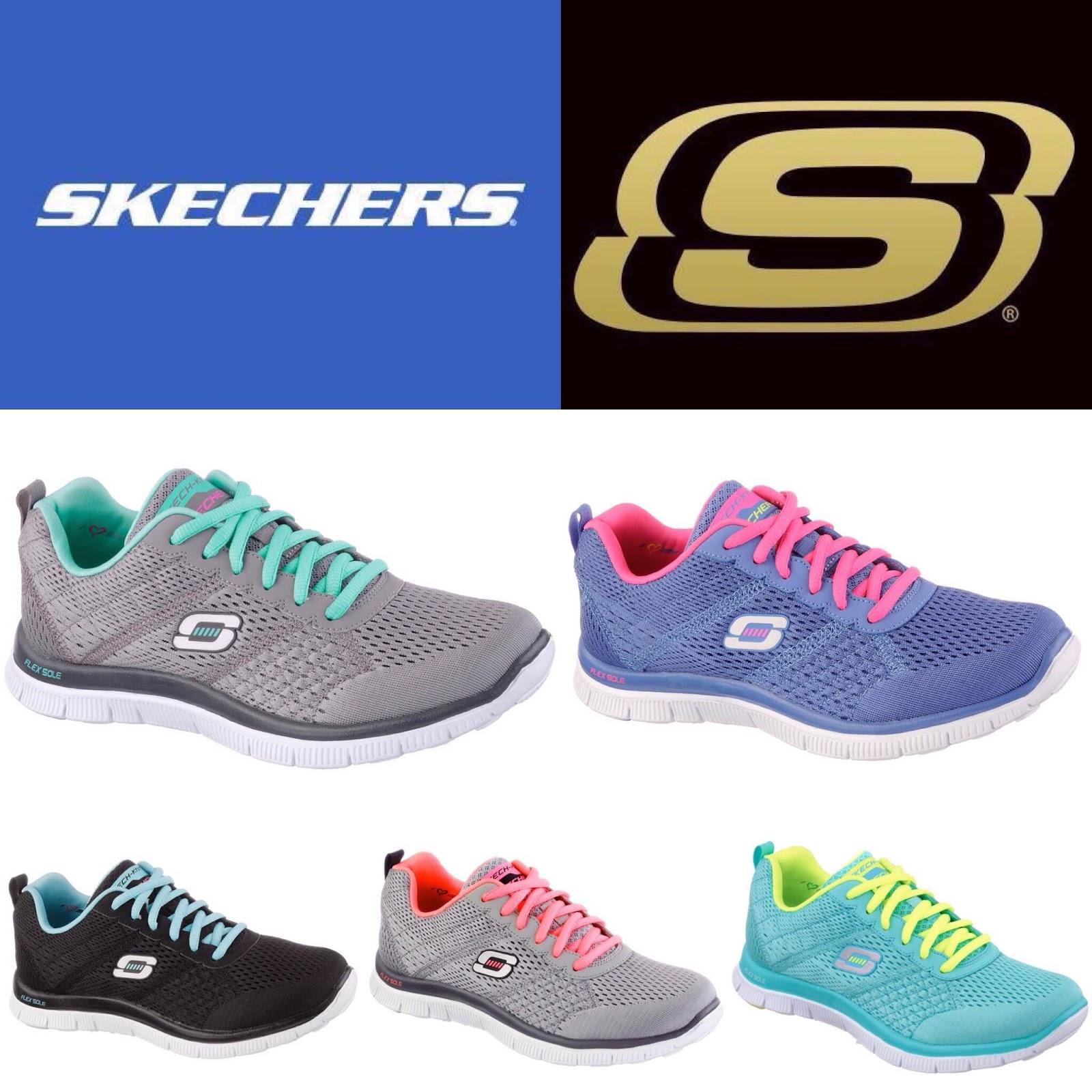 1d38e8d3423 A Skechers apresenta a mais recente linha Flex Appeal para a coleção  Outono-Inverno. Ideais para fazer exercício e para o dia-a-dia