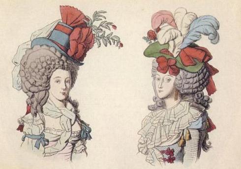 kapelusze z XVIII wieku