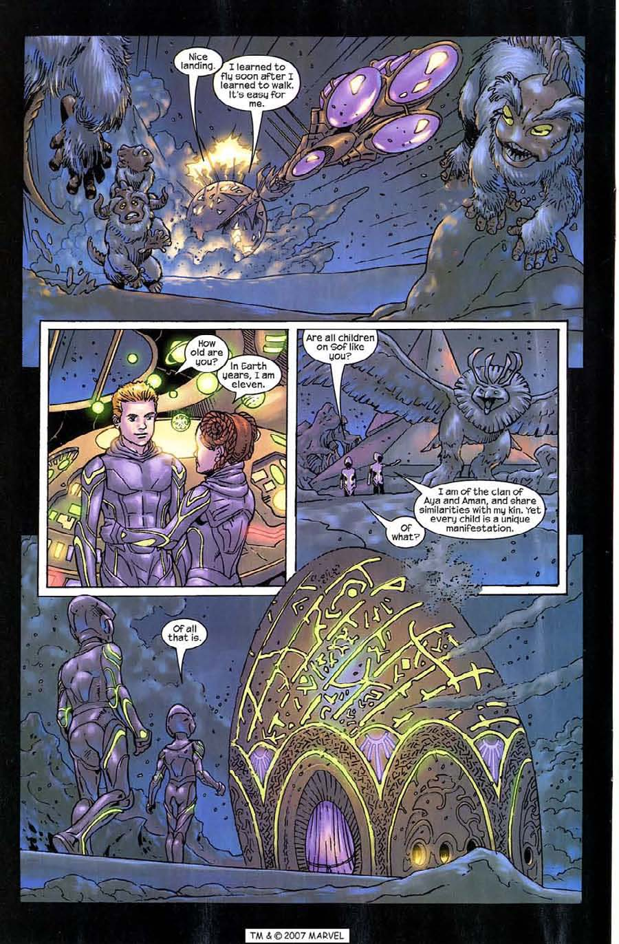Read online Silver Surfer (2003) comic -  Issue #9 - 6