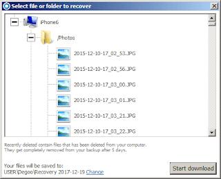 Degoo Recovery (Windows)