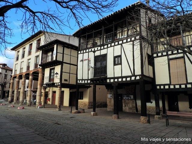 Villa medieval de Covarrubias, Castilla y Léon, Burgos