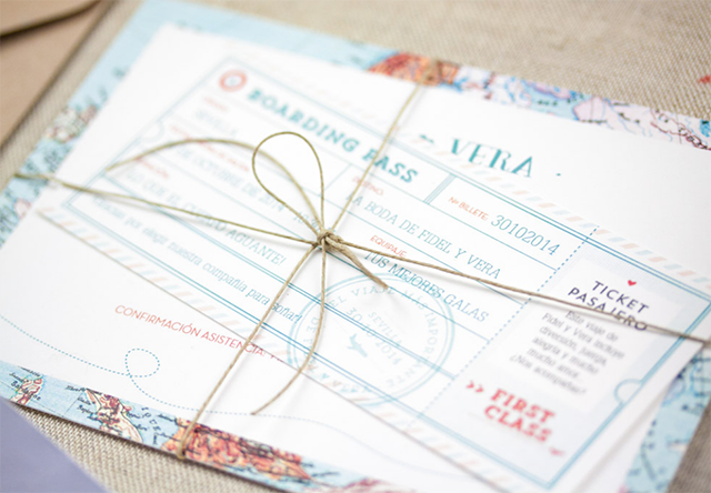 Ideas Invitaciones de boda