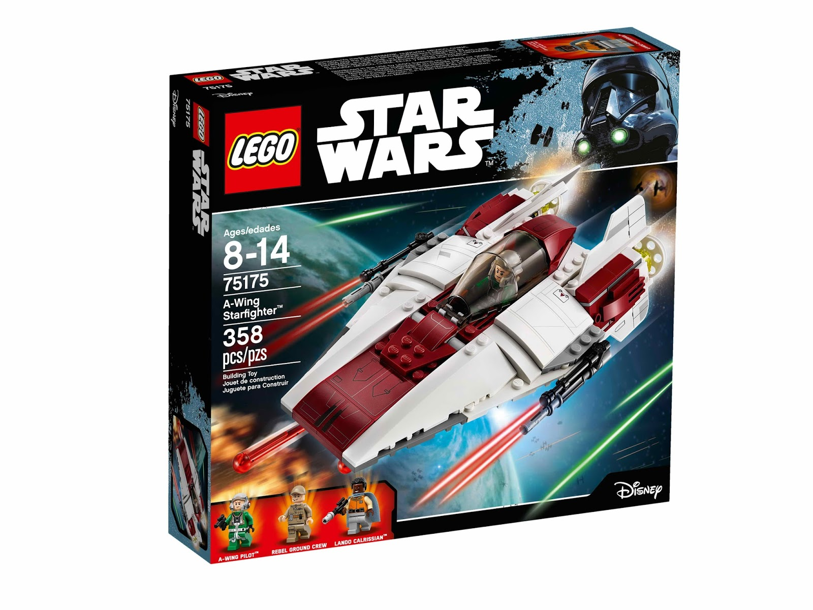 Lego Gossip 011216 Lego 75175 A Wing Starfighter Box Art