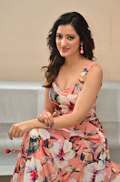 Actress Richa Panai Pos in Sleeveless Floral Long Dress at Rakshaka Batudu Movie Pre Release Function  0156.JPG