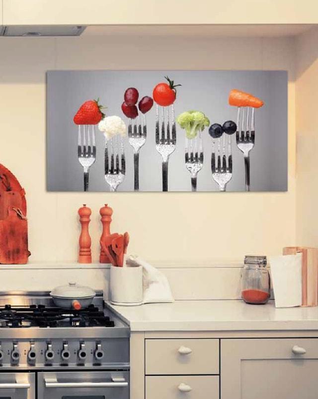 Cómo decorar la cocina con fotografías originales - Cocinas con estilo