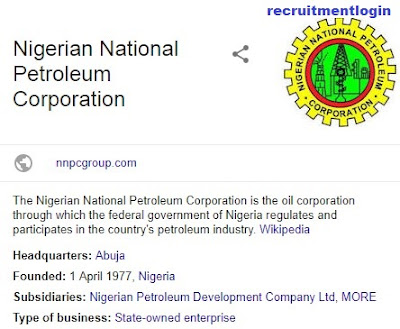 NNPC Recruitment 2018/2019   Urgent Job Vacancy Apply Now