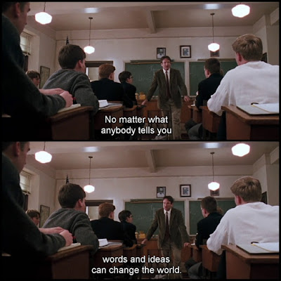 Dead Poets Society Movie Quotes, escape matter