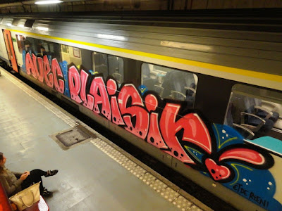 graffiti avec plaisir