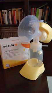 Empezando a formar mi banco de leche materna