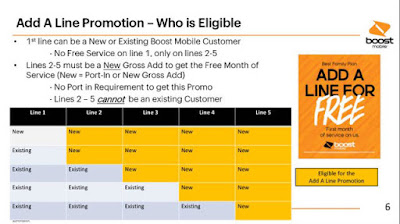Boost Add A Line Promotion