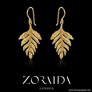 Kate Middleton wore Catherine Zoraida Fern earrings
