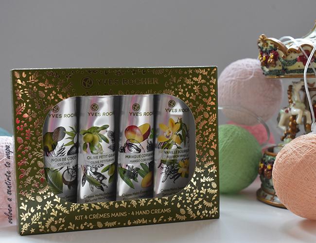 Kit Cremas de Manos de Yves Rocher