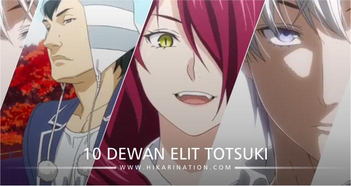 Daftar 10 Dewan Elit Totsuki Yang Akan Tampil Di Shokugeki No Soma Season 3