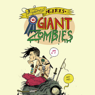 Tattooed girls vs giant zombies