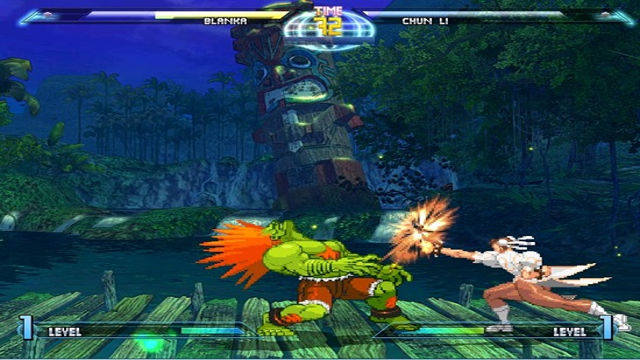 Dragon Ball Vs Street Fighter III - Image du Jeu