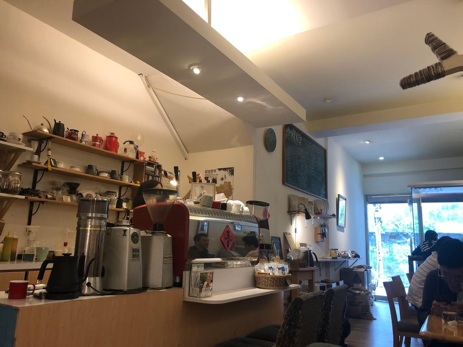 與藍儂喝一杯. 咖啡實驗室 Coffee Lab