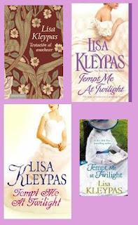 portadas de la novela romántica histórica Tentación al anochecer