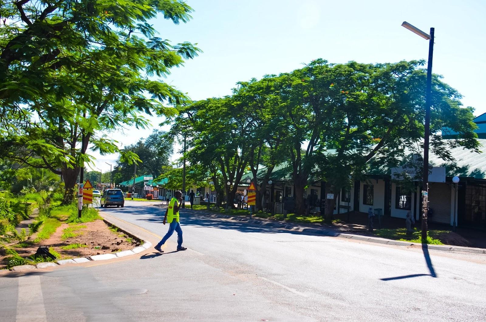 main street of victoria falls