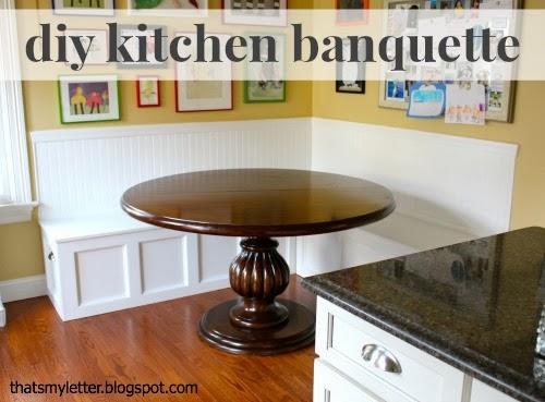 diy kitchen banquette