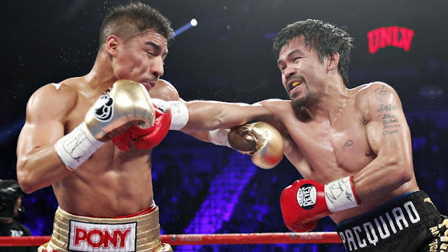 Manny Pacquiao Wins Agains Jessie Vargas and regain WBO Welterweight