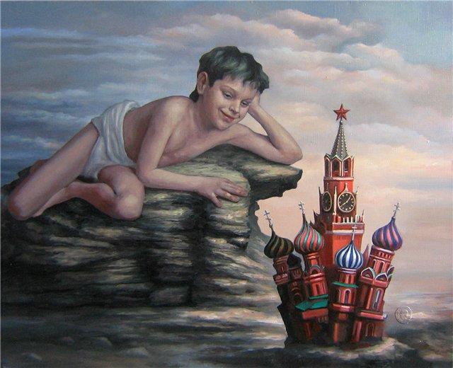 Victor Katyuschik | Russian Figurative Painter