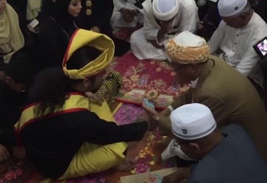 Biodata Sharifah Ladyana, Gambar & Video Pernikahan Awie
