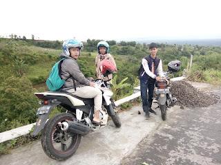 Panorama Desa di Atas Awan, Londonsari Hills Cepogo Boyolali Jawa tengah