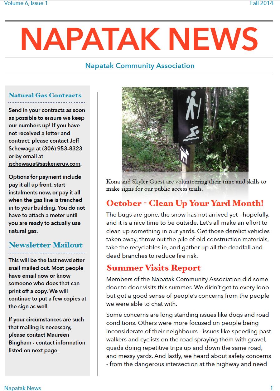 Napatak News: 2014