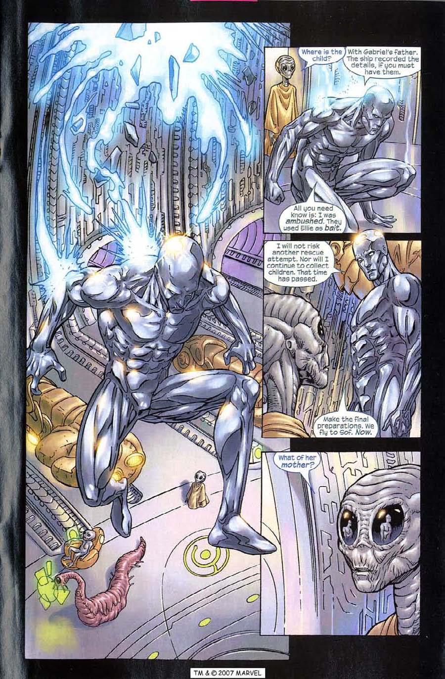 Read online Silver Surfer (2003) comic -  Issue #10 - 23