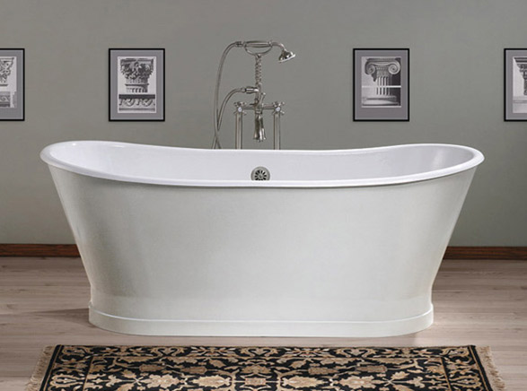 A Skirted Tub Consists Of A Protective Metal Skirt That Acts As The Base  And Frame Around The Drop In Tub. The Skirt Acts As A Support For The Tub  While ...