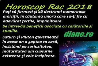 Horoscop 2018 Rac